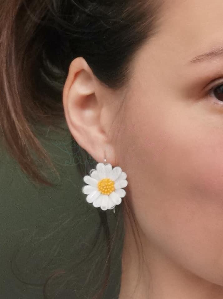 Kopretiny - sada šperků