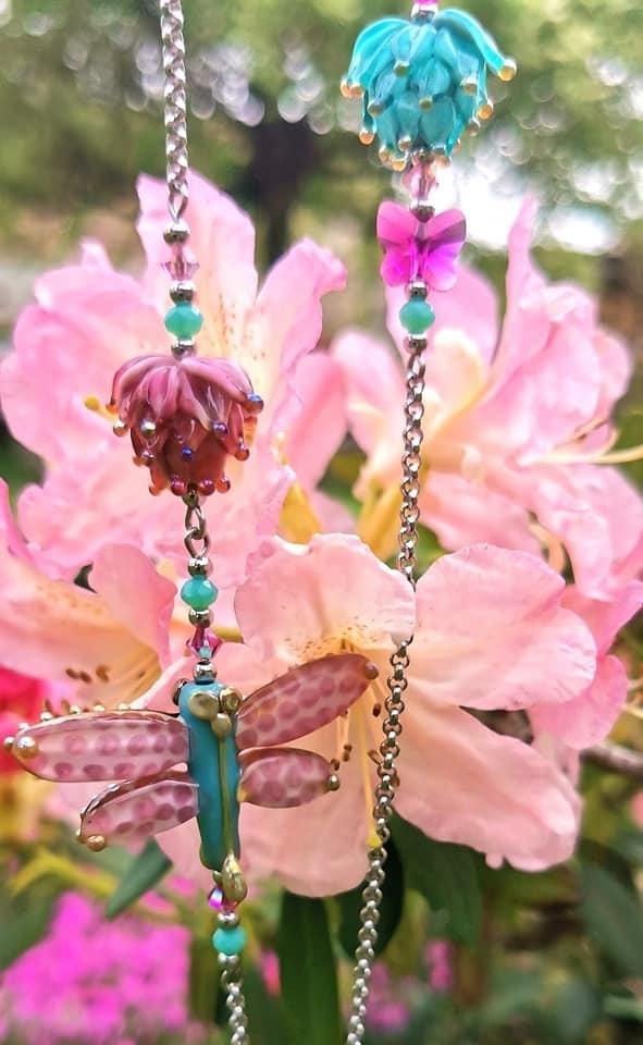 Vílí svět -  růžovo-tyrkysový